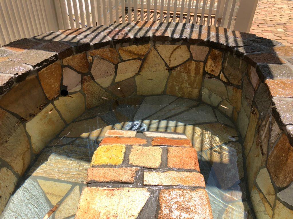 亀の池 福岡 ガーデン 池 亀 ナチュラル 防水 自然石 甲羅干し
